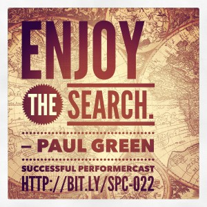 Enjoy the Search - Paul Green