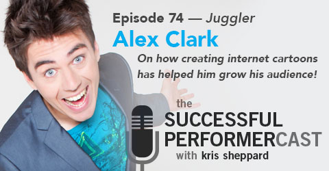 074 Alex Clark - Juggling and Cartoons